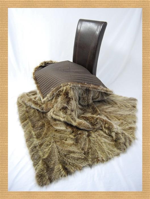 Dv7 Raccoon Fur Blanket Blanket Fur Fur Blanket Bedspread